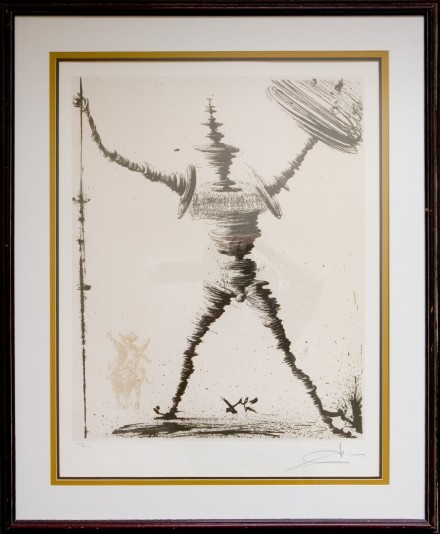 Don Quixote by Salvador Dali