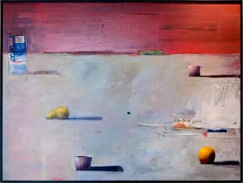 Objects by Denise Eliot Acrylic Painting