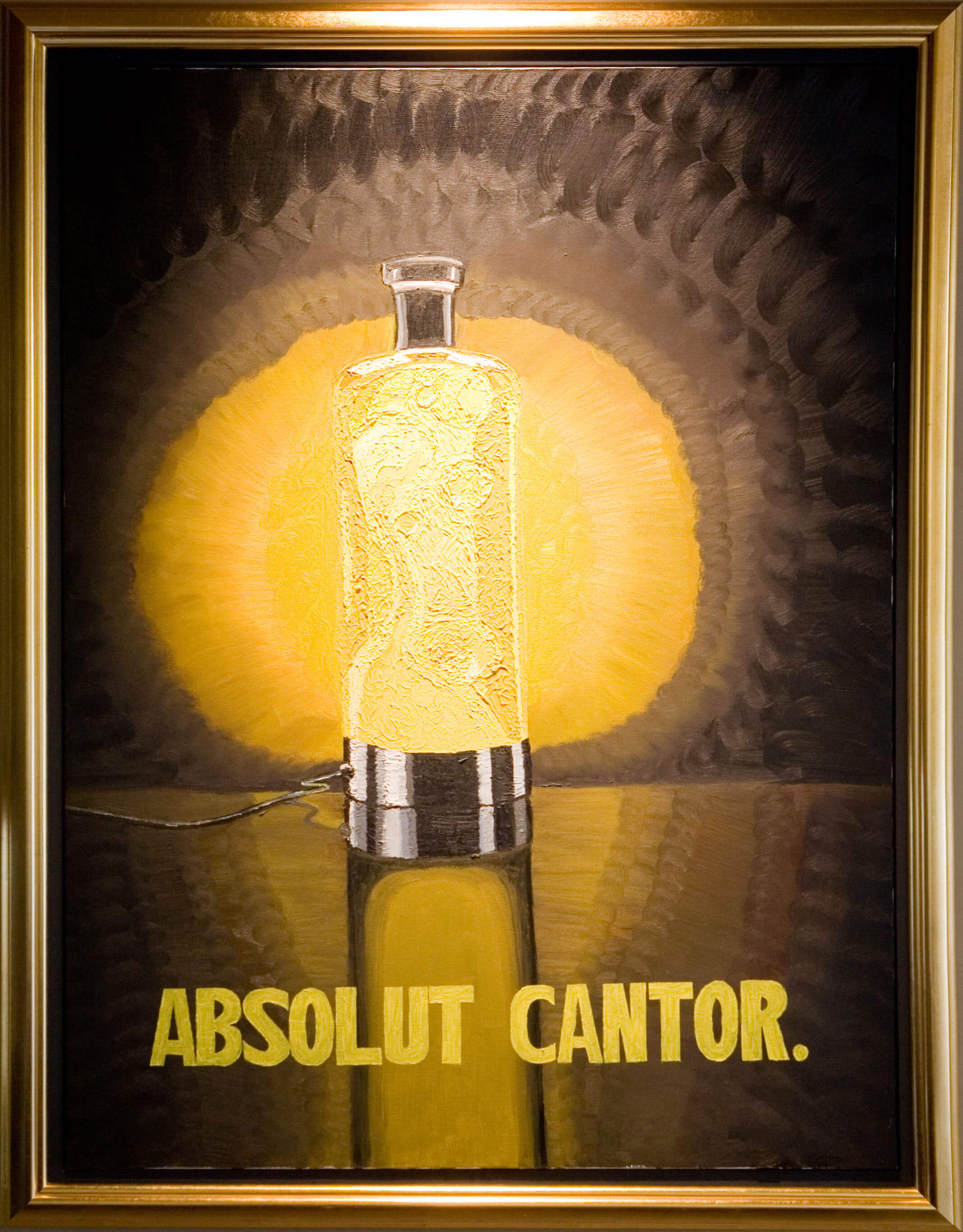 Absolut Cantor by David Michael Cantor