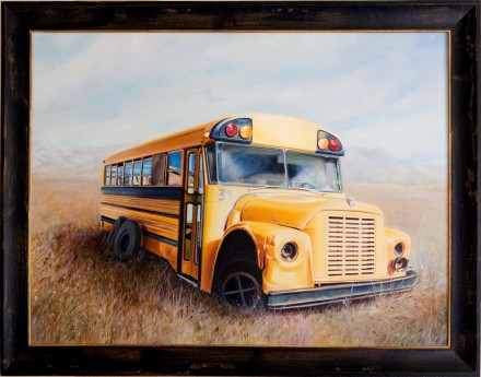 School Bus by Susanne Falk