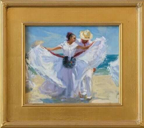 Sea Dance by Susan Diehl Oil on Canvas